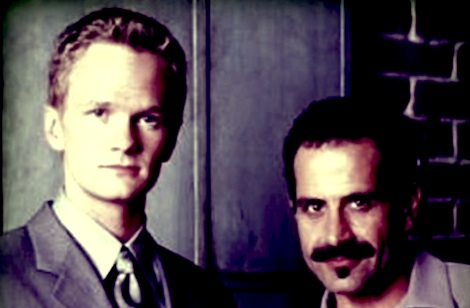 Neil Patrick Harris and Tony Shalhoub in 'Stark Raving Mad'