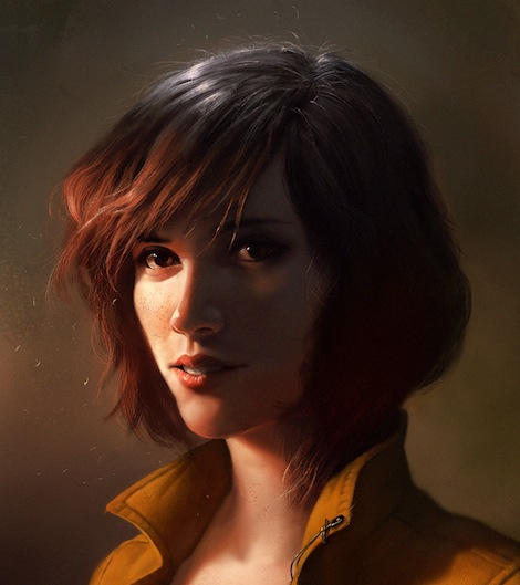 April O'Neil by Dave Rapoza